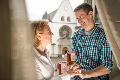 Zweisamkeit im Altstadt Hotel Koblenz