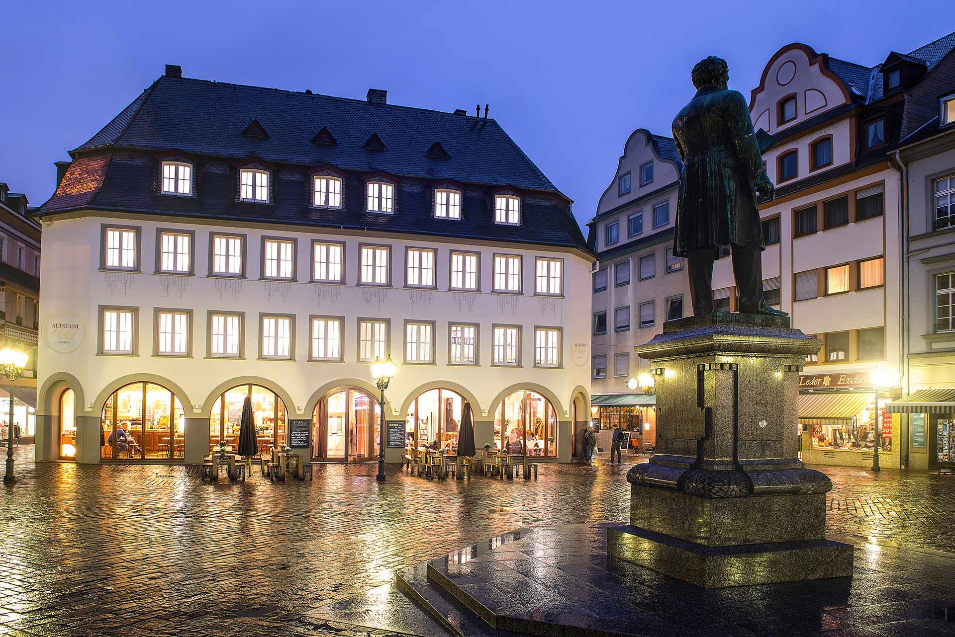 Hotel Koblenz von vorne